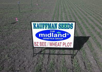 Kauffman Seeds Sign